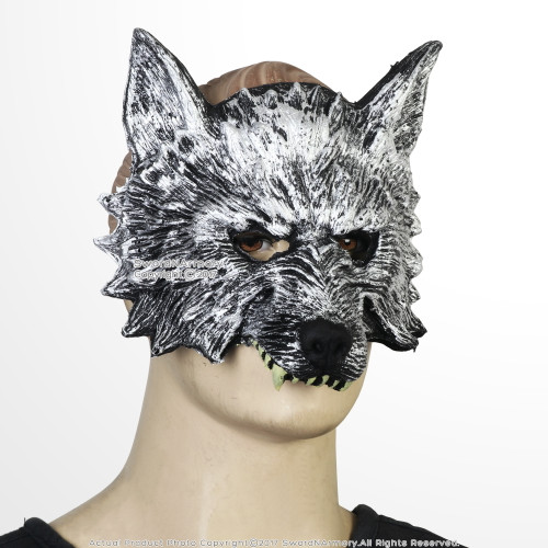 Wolf's Head Foam Mask Adult Men Kid Masquerade Wolf Werewolf Halloween Costume