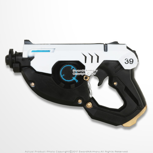 OW Fantasy Foam Gun Tracer Weapon Cosplay Props LARP Shotgun White