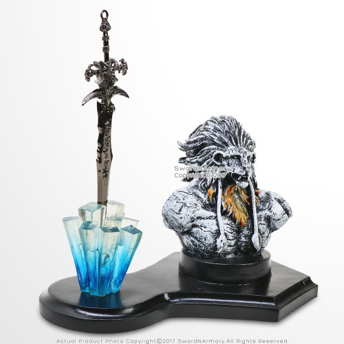 Lion Hart Fantasy Letter Opener Display Stand For Desk/ Home Decor