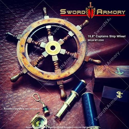 Captain's Shipwheel,  Pirate Ship Wheel