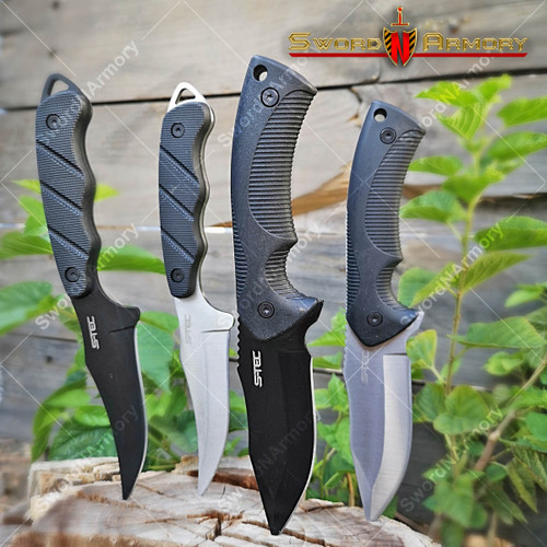 Tactical Hunting Knife with Kydex Sheath