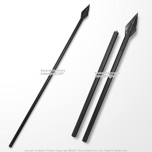 """63"""" Foam Spartan Spear Greek 300 Detachable Foam Spear LARP Weapon Movie Prop"""