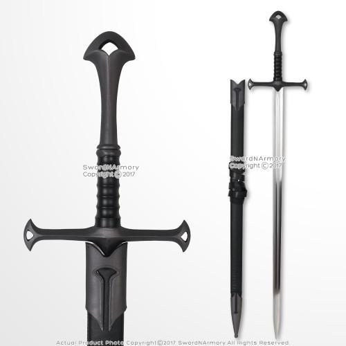 "42"" Medieval Crusader Chivalry Dark Horse Knight's Sword Renaissance Costume"