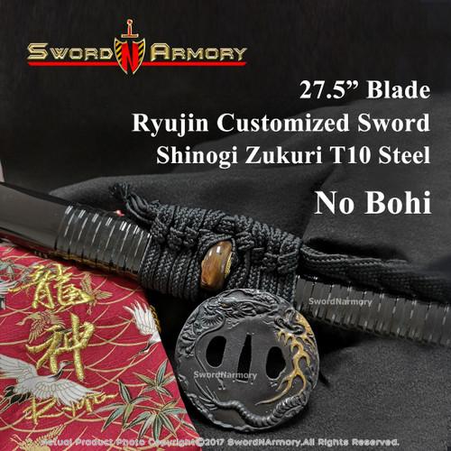 Ryujin Customized Hand Forged Samurai Katana Sword