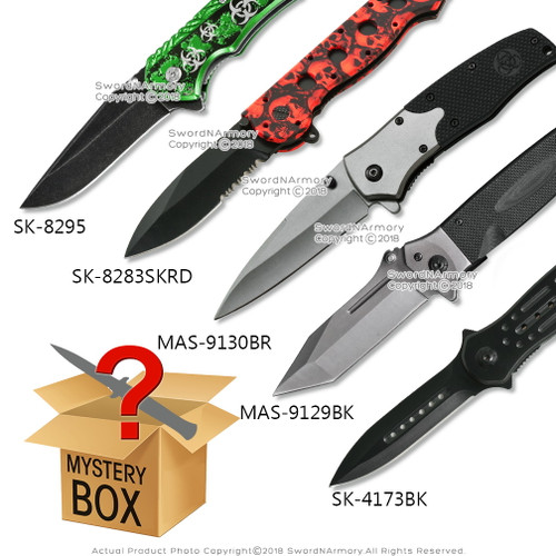 Spring Assisted Opening Tactical Knife Box