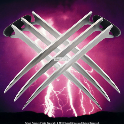 "Set of 2 11""  Wolverine Claw Fantasy Dagger Unsharpened Edge"