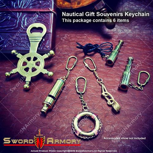 Keychain gift set, antique keychain