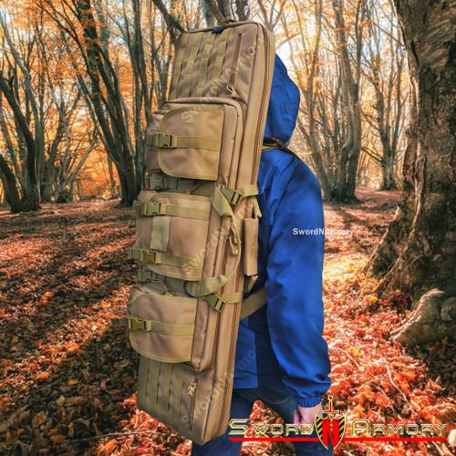 Rifle Long Gun Case Backpack