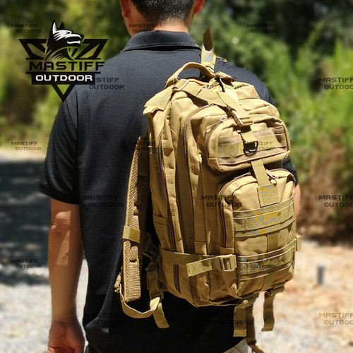 Military Assault Pack, Hydration Bladder Compartment | Army Backpack for Hunting Hiking & Travel