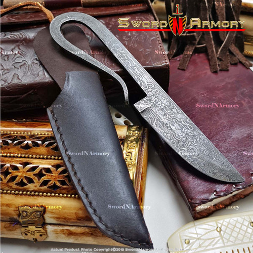 Damascus Medieval Fixed Blade Knife
