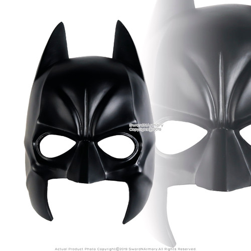 Halloween Resin Batman Mask Adult Costume Party Props Comics Character Gotham City