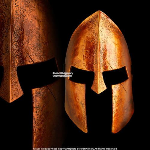 Halloween Spartan Resin Hero Mask Adult Costume Party Prop Realistic Movie