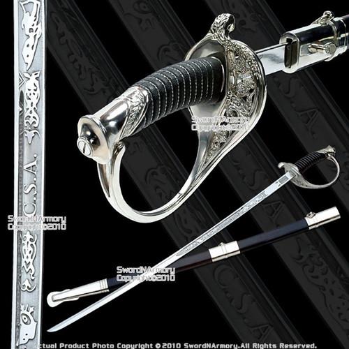 CSA Cavalry Saber Civil War Officer Sword