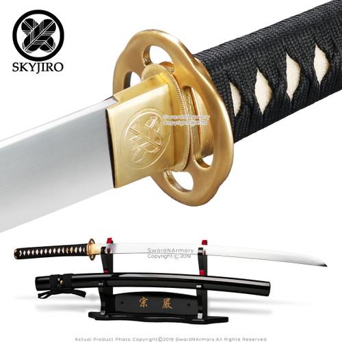 Skyjiro 1075 Competition Samgakdo Korean Sword Hira Zukuri Katana