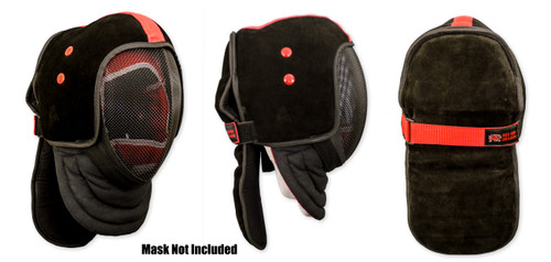 HEMA Leather Mask Overlay by Red Dragon Armoury