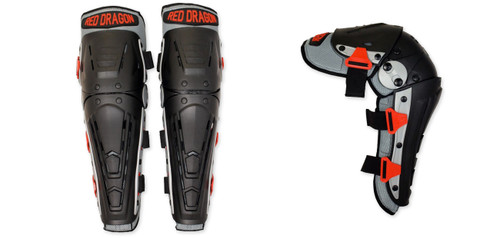 Knee and Shin Guard (Pr.) by Red Dragon Armoury