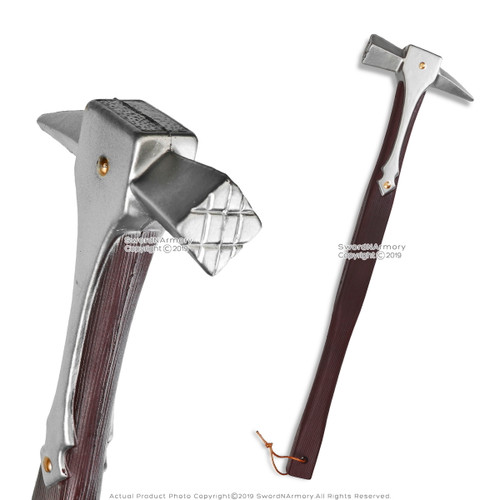 """22"""" Percefer The War Hammer Foam LARP Cosplay Renaissance Costume Prop Weapon"""