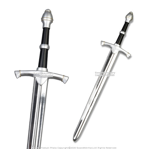 "34"" Medieval Knight Kid Foam Arming Sword Cosplay Weapon LARP Toy Fantasy"