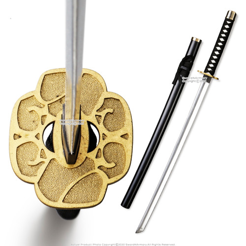 SparkFoam Fantasy Blade Anime Katana Foam Toy Sword with Scab Cosplay Gold Tsuba