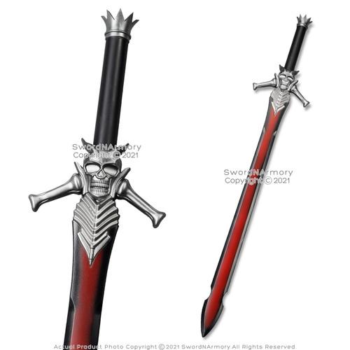 FOAM Devil Cry Sword Rebellion Dante Devil Skull Blood Fantasy Cosplay LARP
