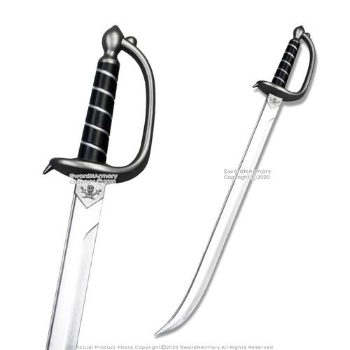 "FOAM 30"" Classic Caribbean Pirate Cutlass Sword Bow Guard LARP Cosplay Movie"