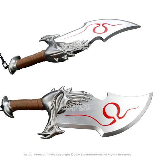 "FOAM 17"" Chain Blades War God Ares Kratos Athena Video Game Anime LARP Cosplay"