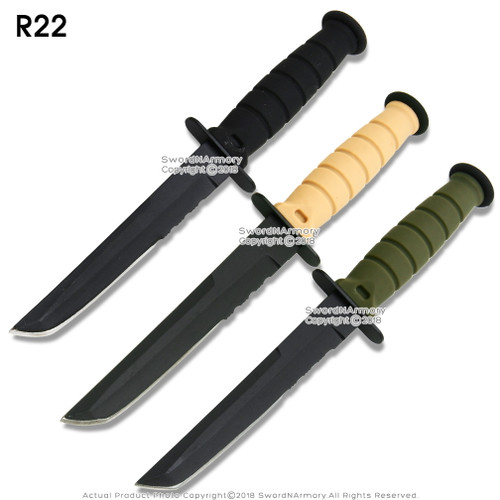 Small Marine Combat Knife Replica Letter Opener Dagger with  Sheath