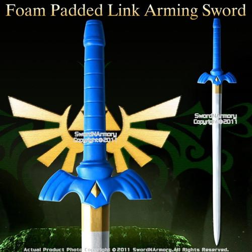 Foam Zelda Link Twilight Princess Arming Sword with Carrying Belt LARP Cosplay