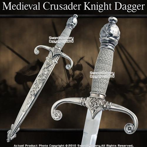 Medieval Crusader Knight Short Sword Historic Dagger
