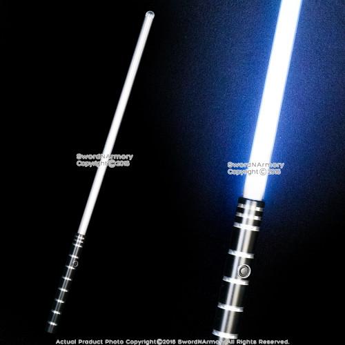 """37"""" 3 Colors Light Saber Toy Sword Anodized Aluminum Handle 180 Lumen RGB LED"""