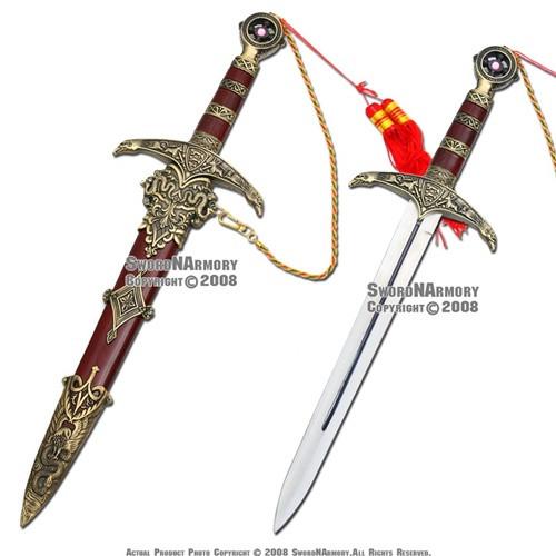 Robin Hood Dagger Medieval Crusader Knight Sword Knife
