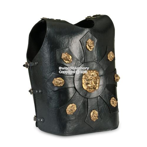 Roman Cuirass Leather Breast Plate  Armor
