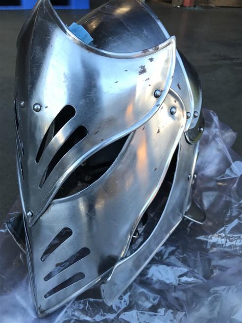 RUSTY Fantasy Armageddon Aliens Helmet LARP Medieval Cosplay Halloween