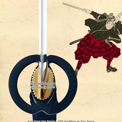 Musashi Practice Handmade Iaito Katana Sword, Unsharpened For Iaido
