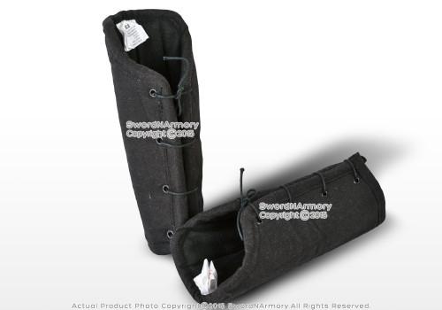 Cotton Arm Protector Padded Bracers Ecru Medieval Renaissance Costume SCA LARP