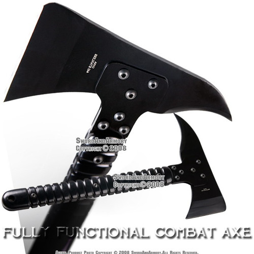 Functional Combat Axe Hatchet