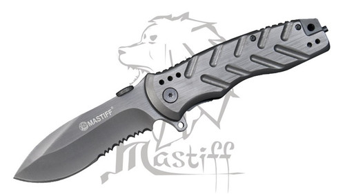 Mastiff  Assisted Opening Tactical Pocket Folding Knife 8CR14MOV Steel Blade