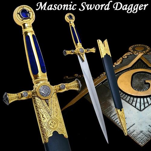 Masonic Ceremonial Dagger Templar Knight Freemasonry