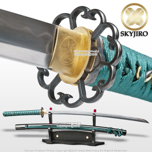 Skyjiro S4 Hota Tegai Scallop Hand Forge Folded Katana Sword