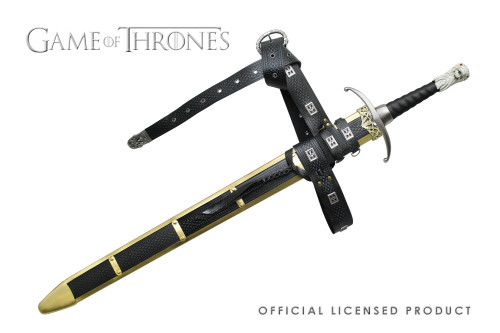 Official Licensed Game of Thrones Jon Snow Longclaw Sword Scabbard Cosplay HBO Vikings