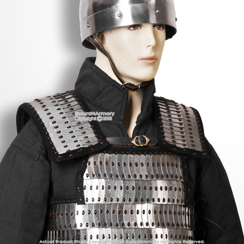 Medieval  Lamellar Plate Body Armor Platelets LARP Renaissance Reenactment Costume 3 different sizes  M L XL