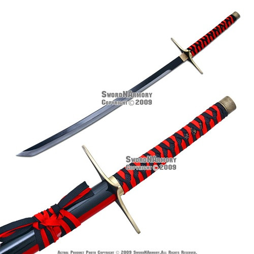 Rojuro Otoribashi Rose Anime Cosplay Samurai Sword