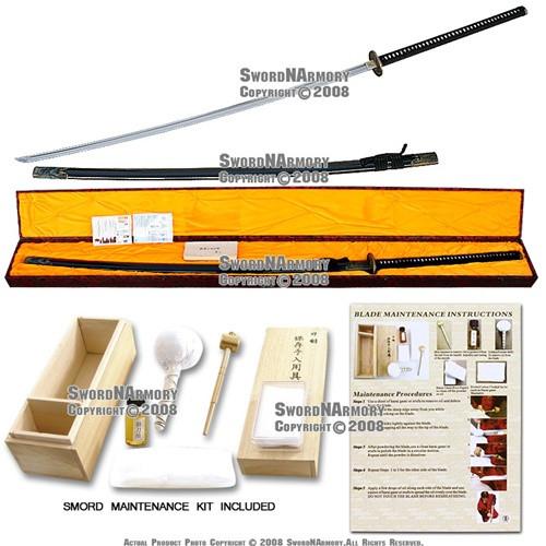 """72"""" Handmade Nodachi Odachi Samurai Battle Field Sword Katana Sharp"""