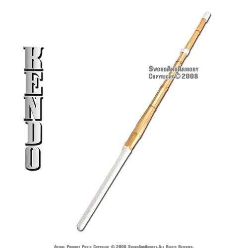 "Single 44"" Kendo Shinai Bamboo Practice Sword Katana"