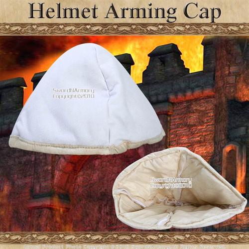 Cloth Medieval Helmet Arming Cap Padded under Helm SCA LARP