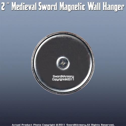 "2 "" Medieval Long Sword Super Magnetic Wall Hanger"
