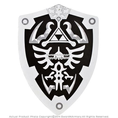 Dark Knight HERO Link Hylian Triforce Foam Shield Legend of Zelda LARP Cosplay