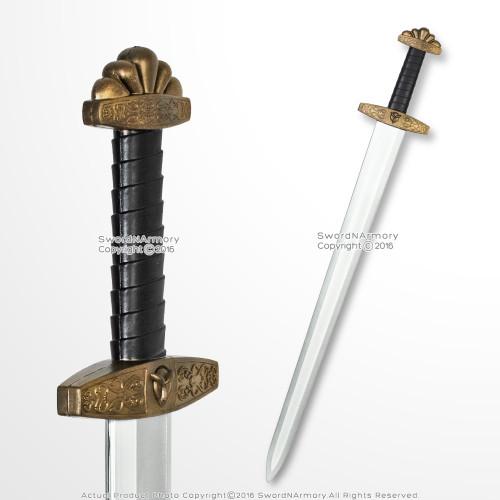 "41"" Foam Viking Warrior Arming Sword w/ Inner Core for Cosplay LARP Costume Prop"