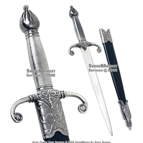 """15.75"""" Medieval Crusader Knight Short Sword Historic Misericord Dagger Renaissance Reenactment LARP"""