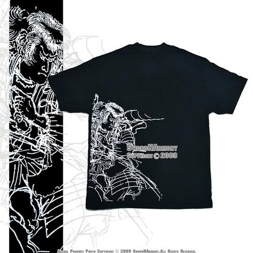 Ronin Cotton T-Shirt (Black or White)